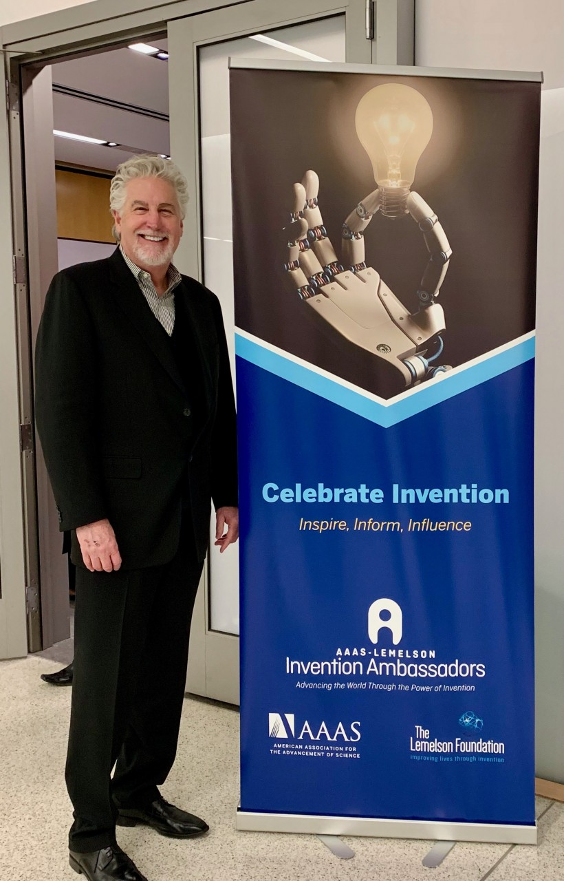 b2ap3_large_AAAS-Stephen-Key Celebrating Invention During the 2019 AAAS Annu... Inventing,licensing –,Invention Ambassadors,AAAS